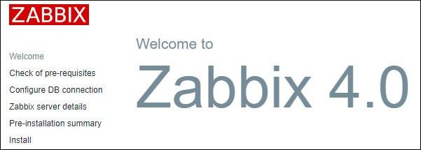 Zabbix Installation